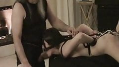 best of Bondage blowjob home