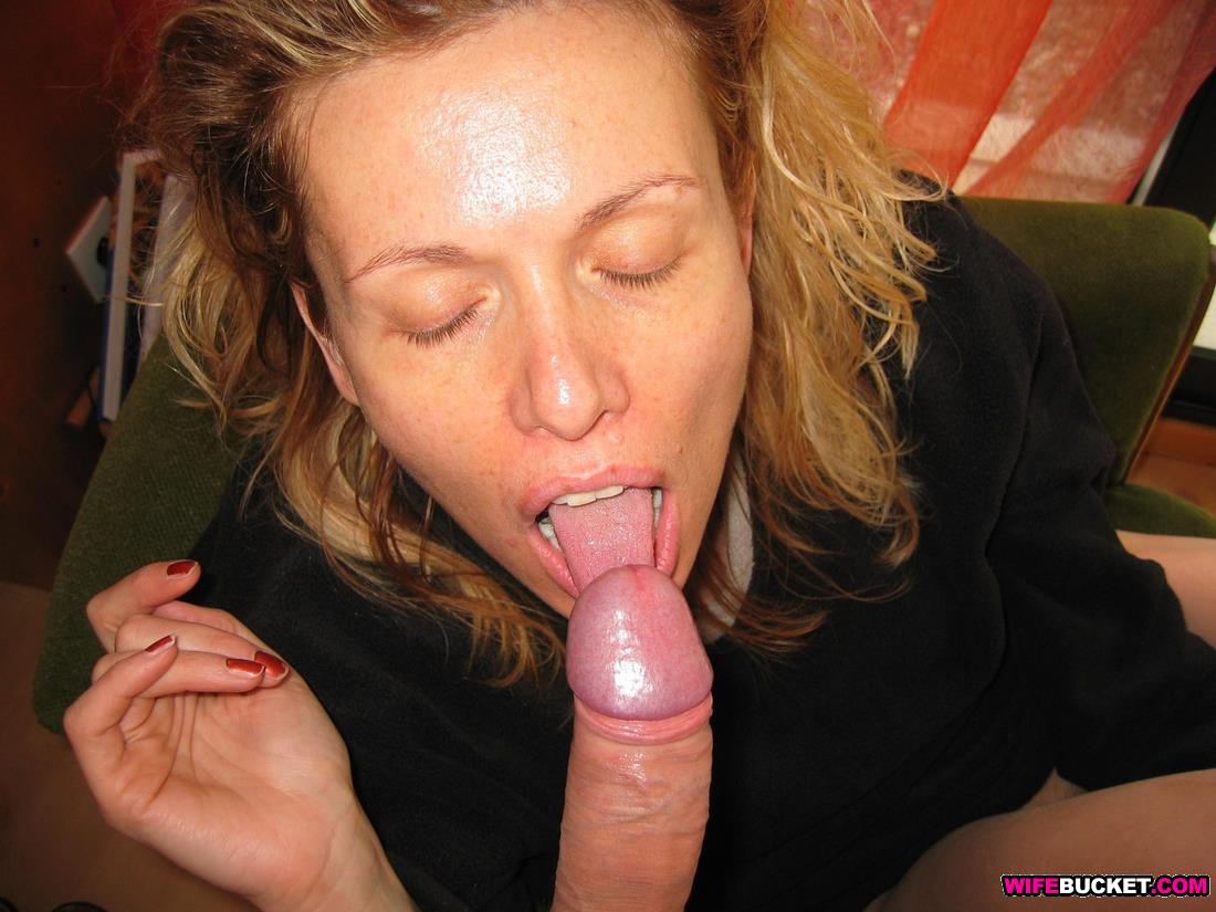 best of Gives great blowjob amateur milf