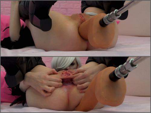 best of Machine from anal fuck gape
