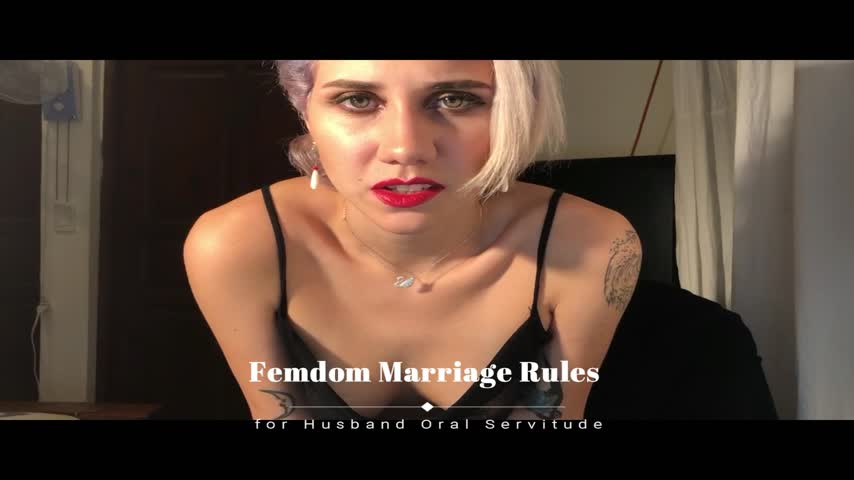 Femdom rules for my slave husband