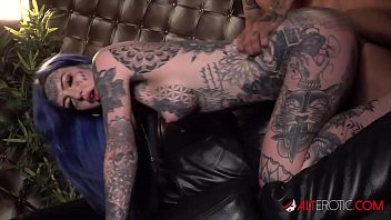 Tattooed assholes blowjob dick and squirt